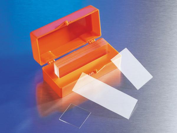 Corning® 22x50 mm Rectangular #1½ Cover Glass