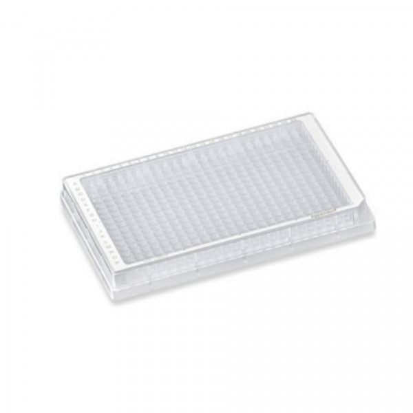 Eppendorf Microplate 384/V-PP, clear wells, border color white, sterile, 80 plates (5x 16 pcs.)
