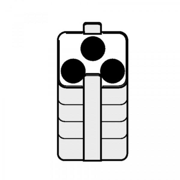Eppendorf Adapter, für 3 konische Gefäße 50 mL, 2 Stück