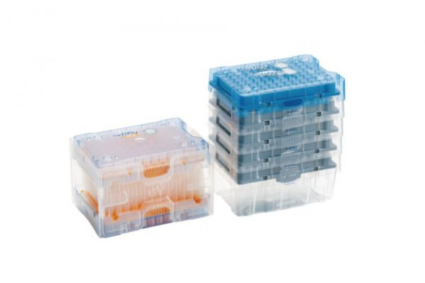 Eppendorf epTIPS LoRetention Reloads, 50-1000µl, 10 trays of 96 tips = 960 tips